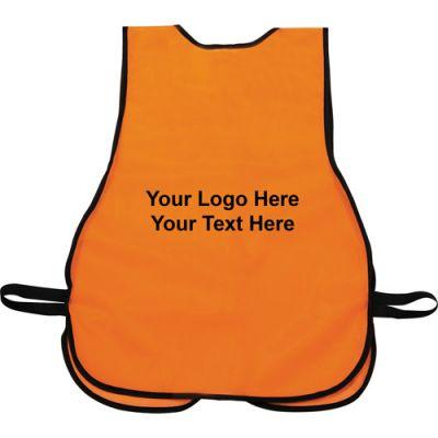 Custom Printed Safety Works High-Visibility Vests
