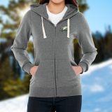 Custom Imprinted Women's Huron Fleece Full Zip Hoodies