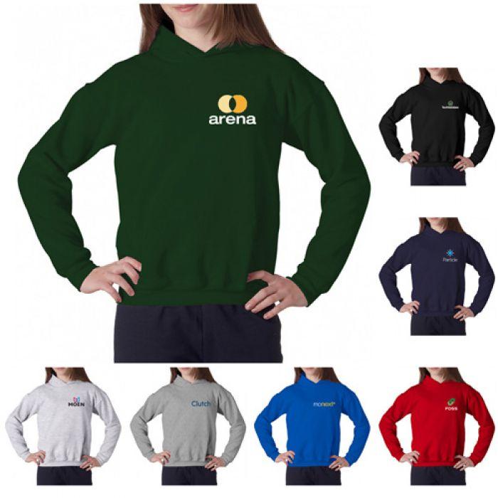 Printed Gildan® Youth Heavy Blend™ Hooded Sweatshirts