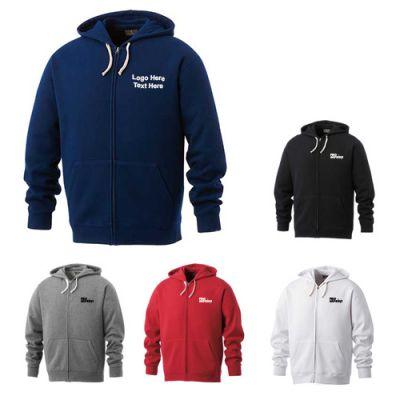 Personalized Men's Huron Fleece Full Zip Hoodies