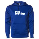 Promotional Logo Men's Poly-Tech Pullover Hooded Sweatshirt