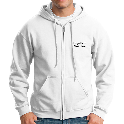 Design Custom Printed Gildan Lightweight Hooded Sweatshirts