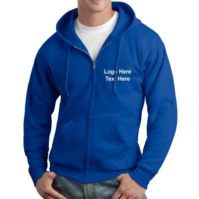 Promotional Hanes EcoSmart Full-Zip Hooded Sweatshirt