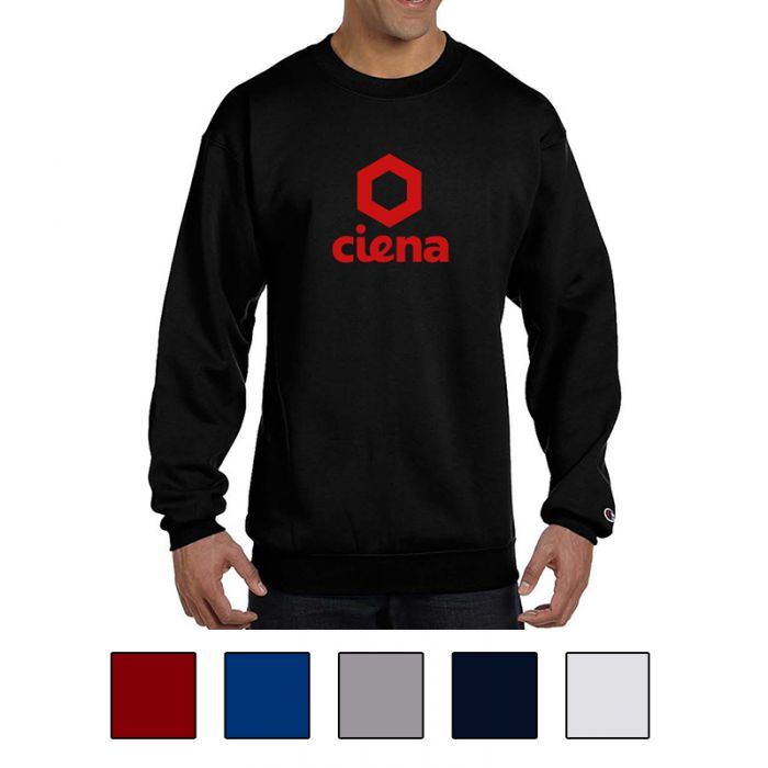 Printed Champion® Double Dry Eco® Crewneck Sweatshirts