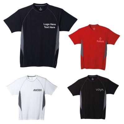 Custom Printed Men's Diaz Short Sleeve Tech Tee
