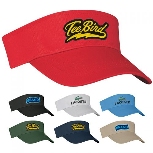 Cotton Twill Visor Hats