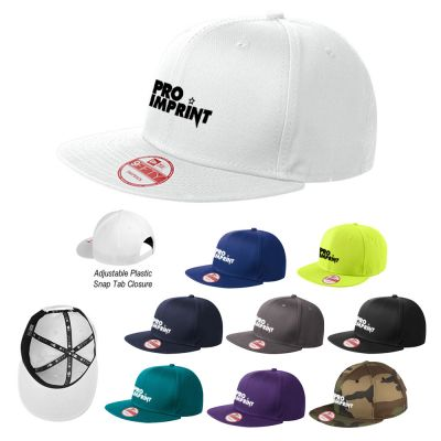New Era® Flat Bill Snapback Caps