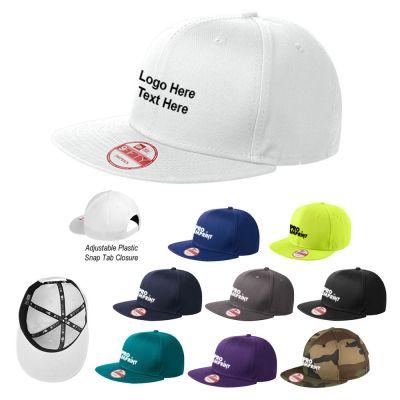 Custom Imprinted Flat Bill Snapback Caps
