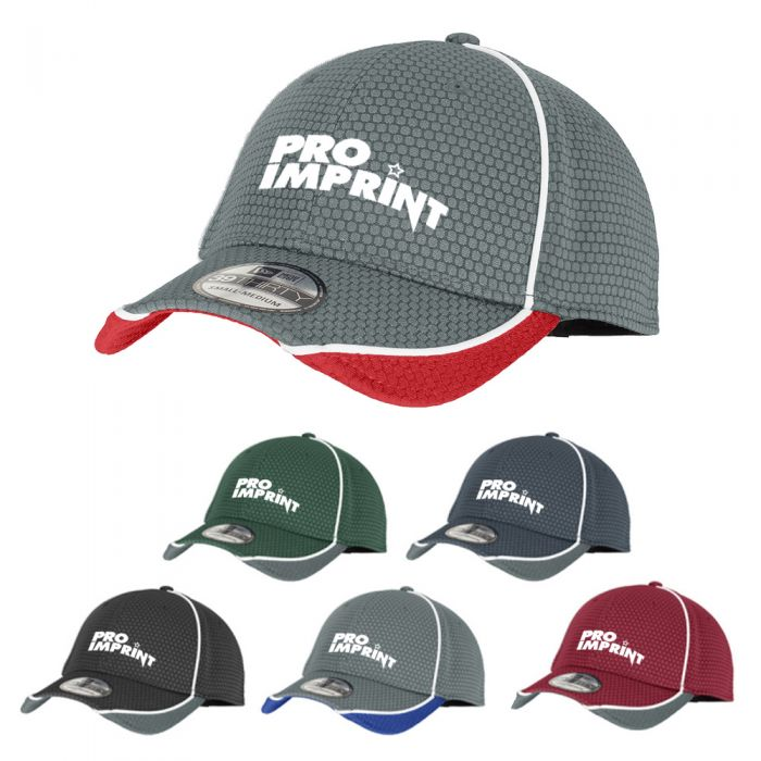 Imprinted New Era® Hex Mesh Caps
