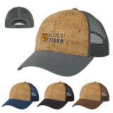Custom Imprinted Somerset Cork Mesh Back Caps