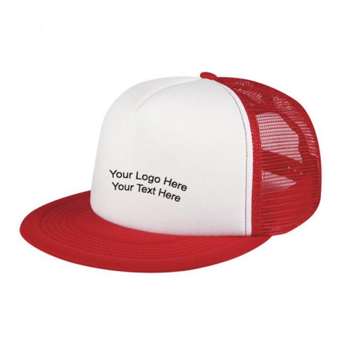 Flat Bill Trucker Hats