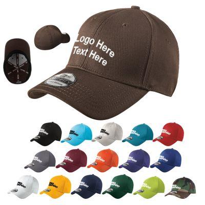 Custom Structured Stretch Cotton Caps