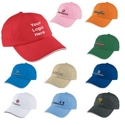 Promotional Logo Unstructured Sport Sandwich Caps