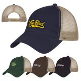 Promotional Washed Cotton Mesh Back Caps