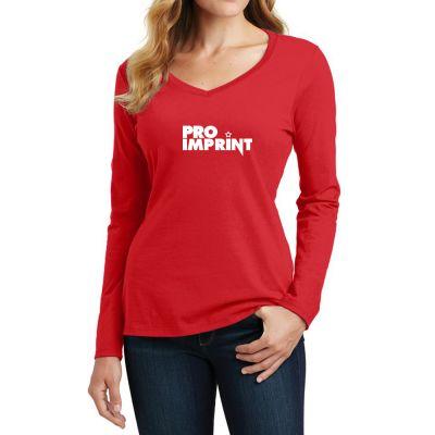 Port and Company® Ladie's Fan Favorite Long Sleeve Tees