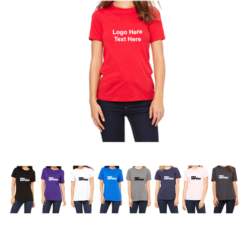 Bella+Canvas® Ladies Relaxed Fit Jersey Tees