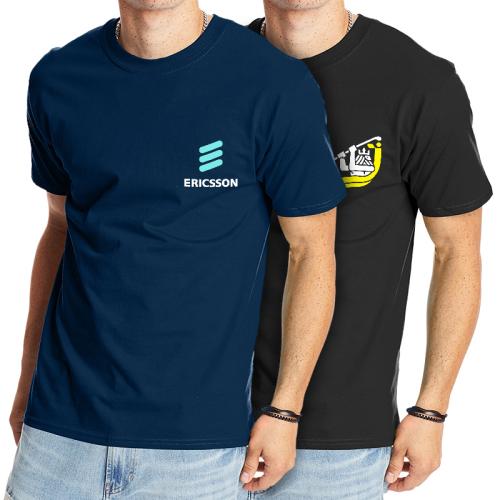a8df4ae1 Custom Printed Hanes Beefy-T Adult Short-Sleeve T-Shirts - Short Sleeve
