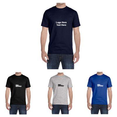 Custom Printed Hanes Men's Comfortblend Crewneck T-Shirts