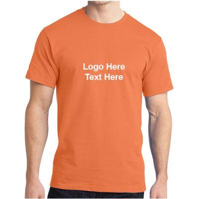 Custom Printed Men's Port and Company Ringspun Cotton T-Shirts