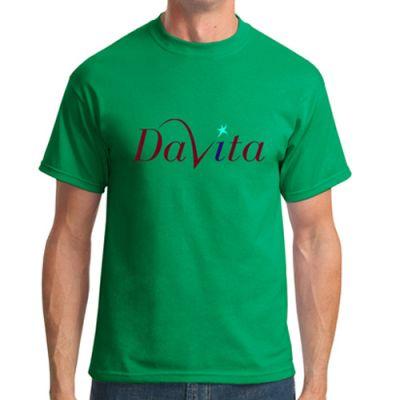 Custom Printed Port and Company Men's Short Sleeve T-Shirts