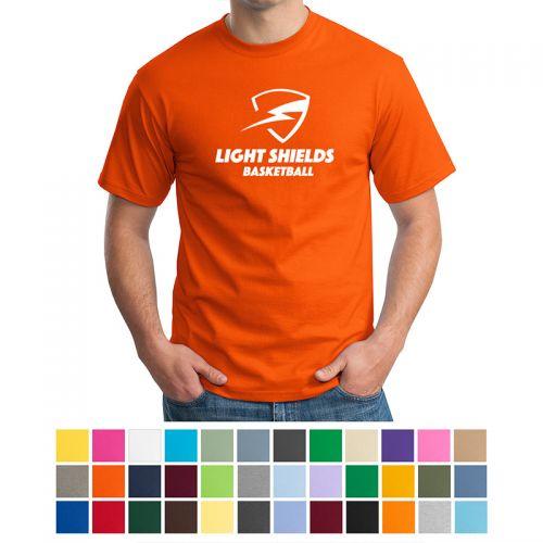 Hanes® - Tagless® 100% Cotton T-Shirts