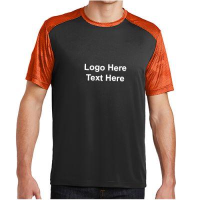 Promotional Logo Sport-Tek CamoHex Colorblock T-Shirts