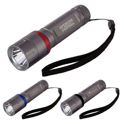 Custom Imprinted 3 Watt Ring Flashlights