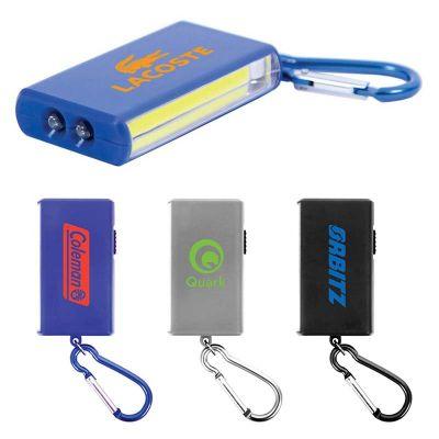 Custom Imprinted COB LED Keychain Flashlights