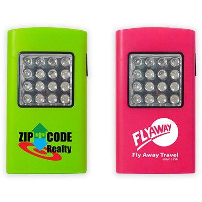 Customized 16 LED Plastic Flashlights