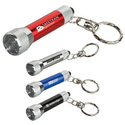 Custom Printed Homestead Metal Keychain Flashlights
