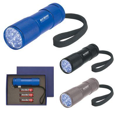 Custom Printed Stubby Aluminum LED Flashlights