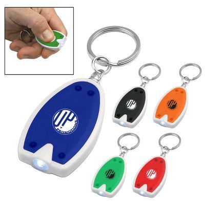 Custom Printed LED Keychains