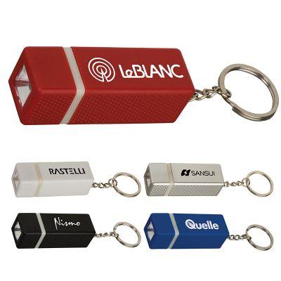 Customized Square Keychain Flashlights