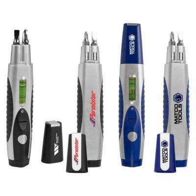Personalized Flashlight Tool Kit with Level