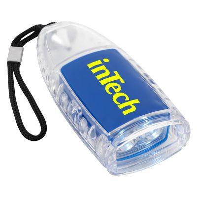 Custom Imprinted Torpedo LED Lantern Flashlight with Strap