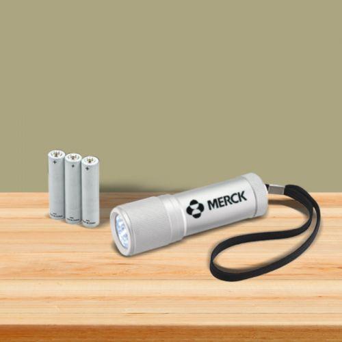 custom imprinted mars led flashlights