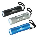 Customized Gripper 9 LED Flashlights