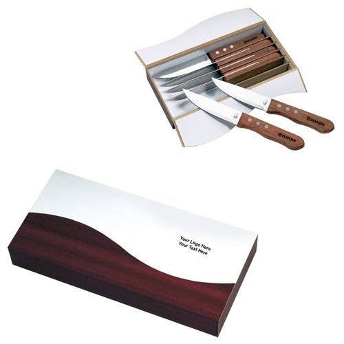 Custom 6 Piece Niagara Cutlery Steak Knife Sets - Kitchen ...  Custom 6 Piece ...