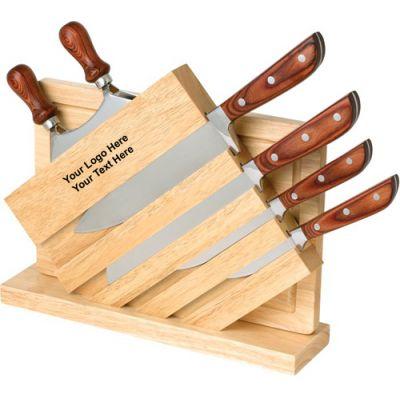 Customized 7 Piece Knife Board Sets