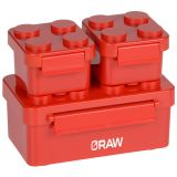 Custom Building Blocks Stackable Lunch Containers