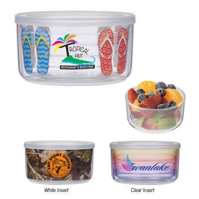 Promotional 22 Oz Tritan™ Food Storage Bowls