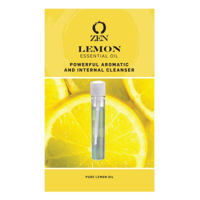Custom Essential Oil in a 3 ml Sample Vial and Card