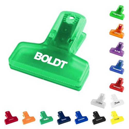 2.5 inch custom printed keep it chip clips