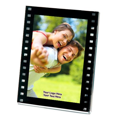 2.12x3.12 inch custom magnetic filmstrip slip in frame