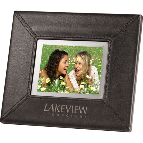 3.5 Inch Promotional Leather Digital Photo Frames