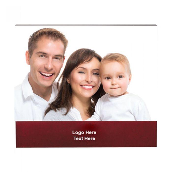 4 x 6 Inch Customized Brown Acrylic Photo Frames