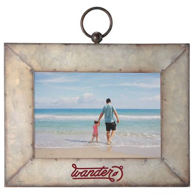5x7 Inch Personalized Galvanized Photo Frames