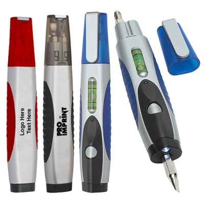 Custom Printed Multi-Purpose Tools with Flashlight