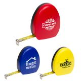Promotional 10 Ft Egghead Shaped Tape Measures