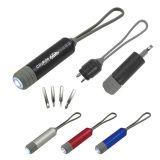 Custom Aluminum LED Flashlight with Screwdriver...
